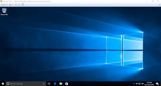 Hướng dẫn cài đặt Windows 10 trên máy ảo VMware Workstation 12 Player