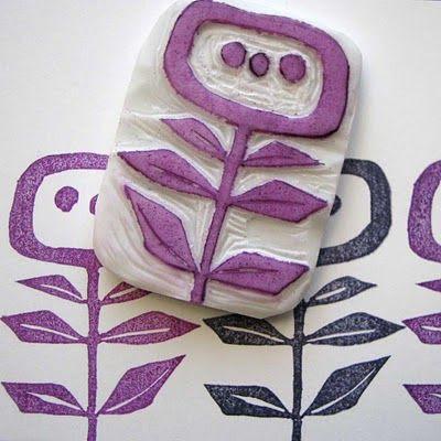 Как сделать клише для ткани