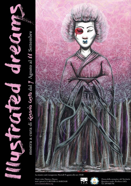 Illustrated Dreams - mostra di Rosaria Costa al Museo #MeTe
