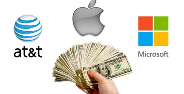 20 Million per Seconds? This Money Generated 10 World Technology Companies