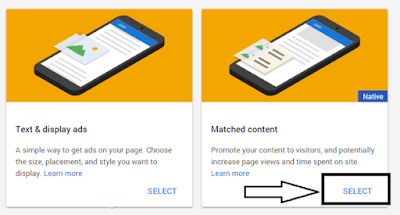 Cara Pasang Matched Content Adsense di Wordpress
