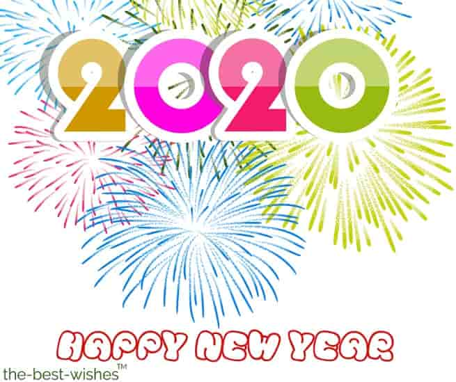 happy new year images editing