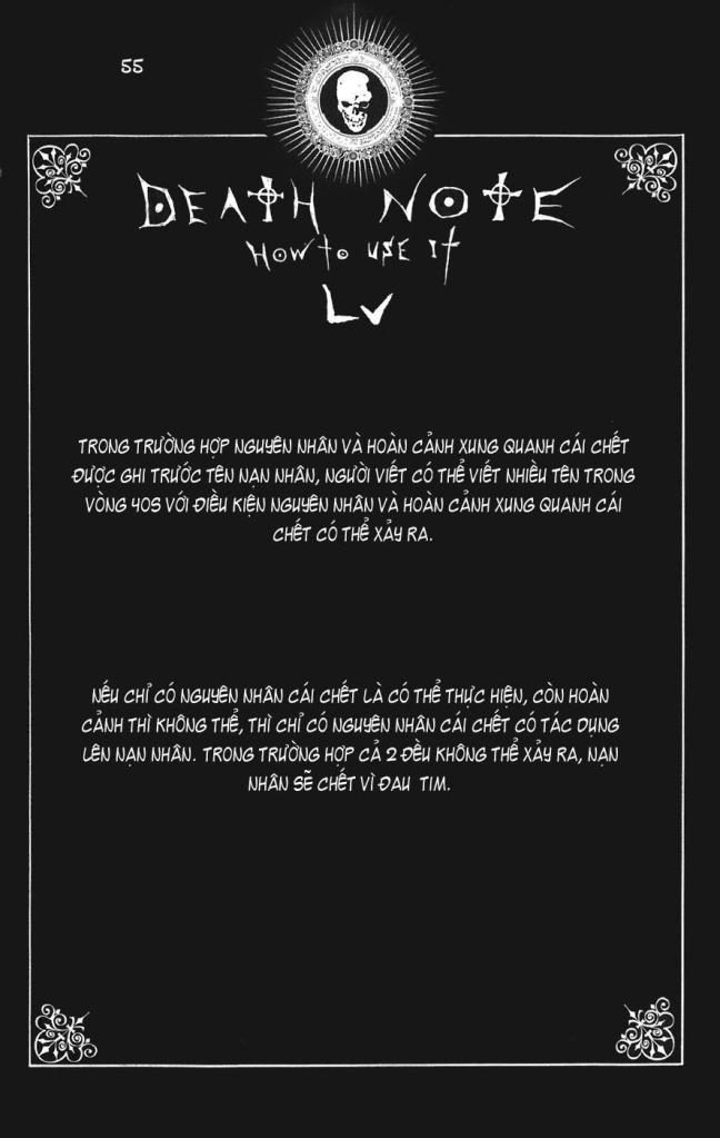 Death Note chapter 110 - how to use trang 58