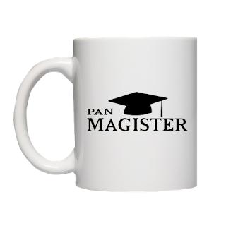 Kubek Pan Magister - prezent na obronę pracy magisterskiej