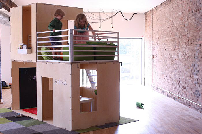 Modern Modular Eco-Friendly Indoor and Outdoor Playhouses for Kids ...