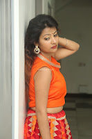 Shubhangi Bant in Orange Lehenga Choli Stunning Beauty ~  Exclusive Celebrities Galleries 034.JPG