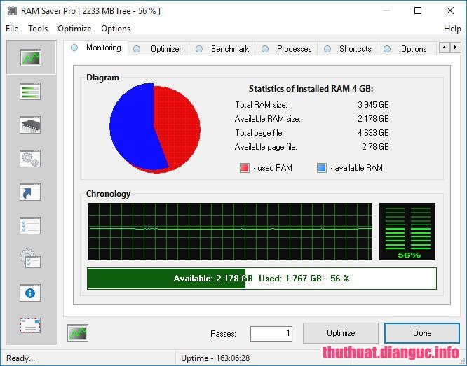 Download RAM Saver Professional 19.0 Full Crack, RAM Saver Professional, RAM Saver Professional free download, RAM Saver Professional full key, phần mềm tối ưu hóa RAM, phần mềm quản lý RAM