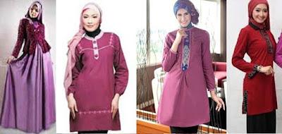 maxi dress untuk lebaran