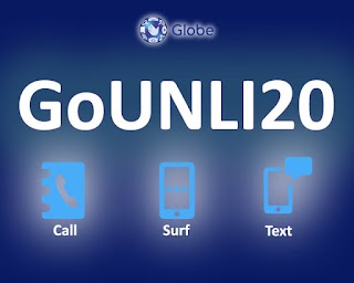 GoUNLI20 – Unli Calls to Globe/TM, Texts and Surf for Only 20 Pesos