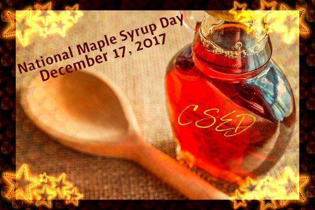 Crazy Days To Celebrate: December 17, 2017