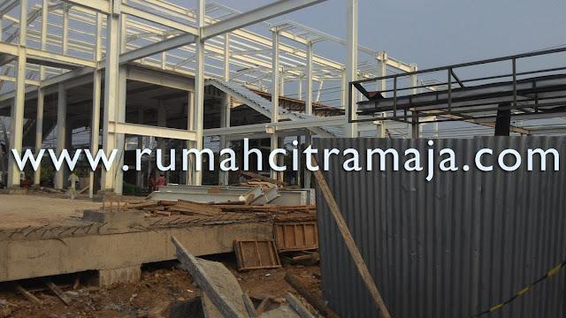 Progres Pembangunan Stasiun Maja
