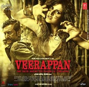 Veerappan (2016) Hindi Movie DVDScr 350MB