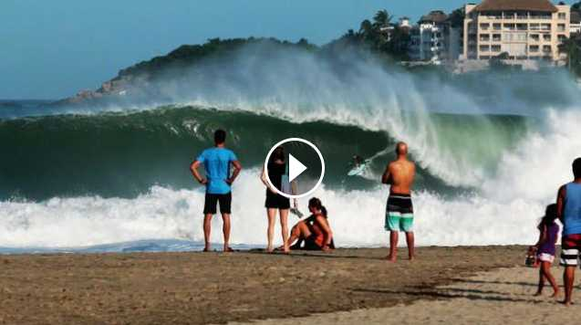 A big-wave playground Surfing at Puerto Escondido