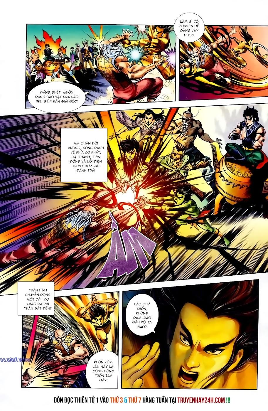 Cơ Phát Khai Chu Bản chapter 116 trang 25