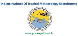 Indian Institute Of Tropical Meteorology Recruitment