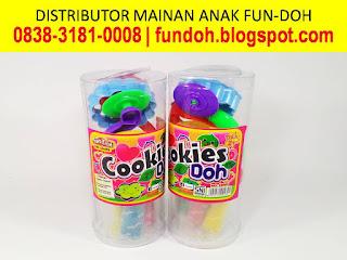 Fun-Doh Tabung Variant Cookies Doh, fun doh indonesia, fun doh surabaya, distributor fun doh surabaya, grosir fun doh surabaya, jual fun doh lengkap, mainan anak edukatif, mainan lilin fun doh, mainan anak perempuan