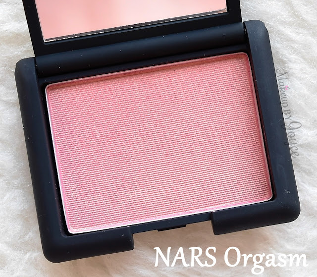 NARS Orgasm Powder Blush Travel Deluxe Sample Size Review Packaging