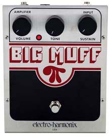 Electro Harmonix Big Muff PI Fuzz Pedal: Características