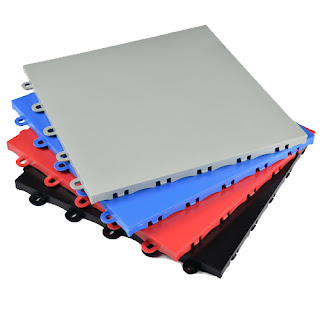 Greatmats plastic basketball court tile