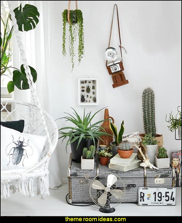 Living and Styling with Plants  Boho Style Decorating - Boho decor - Bohemian bedding - boho chic decor - boho theme decorating ideas - bohemian decor bedroom - boho gypsy decorating style - Bohemian theme decorating ideas - bohemian chic bedroom - Gypsy style Boho Boutique - bohemian decor - bohemian bedroom ideas