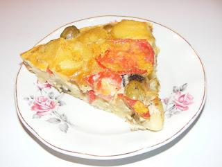 Tortilla spaniola cu cartofi retete culinare,