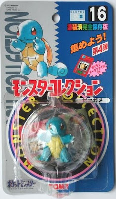 Pokemon figure Tomy Monster Collection series Squirtle