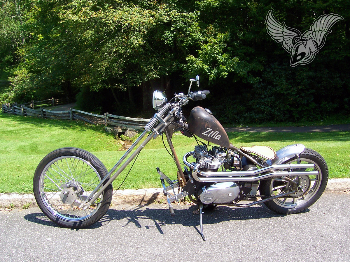 Triumph Cc Tiger Chopper Don Snow on Sportster Charging System