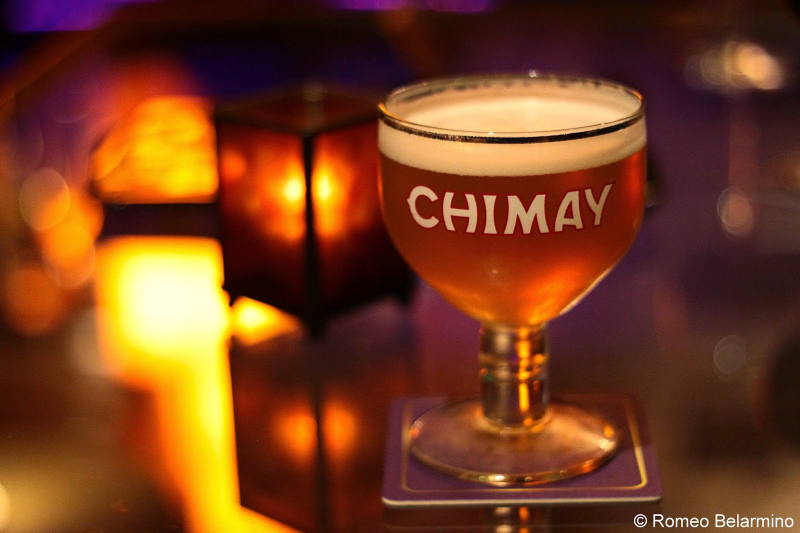 Chimay at Patrick's Bar Vin New Orleans