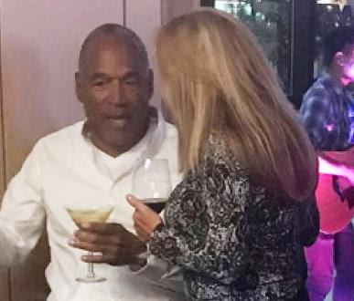 Newly released OJ Simpson party with multiple white women in Vegas (photo)