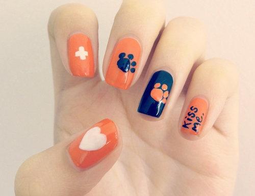 como decorar uñas con plantillas
