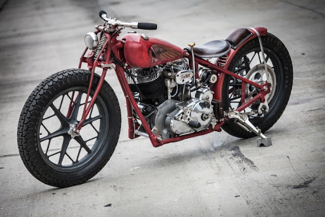 Indian Scout By Brat Style Hell Kustom