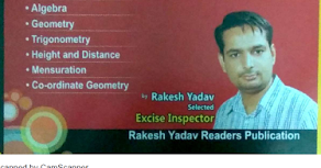 Rakesh Yadav Sir (7300) Book pdf - 33 MB (Chapter - Percentage Only