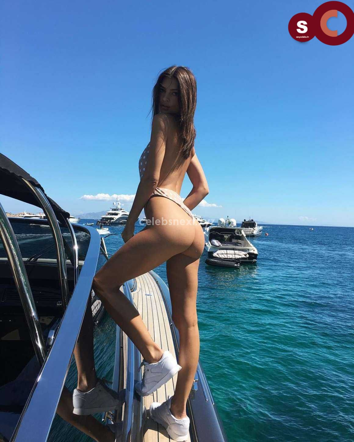 Emily Ratajkowski in Bikini Sexy Smooth small Naked Ass in Thong Bikini July 2018 ~ CelebsNext.xyz Exclusive Celebrity Pics