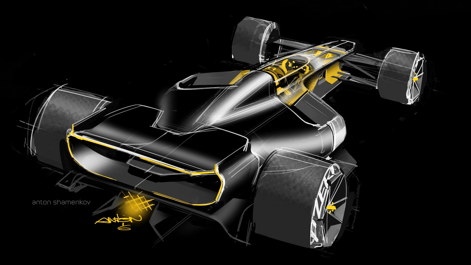 MUCH PUNCH: Renault R S  2027 Shanghai Motor Show 2017 Concept