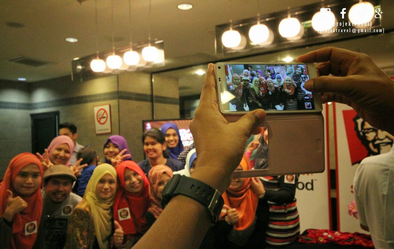 Rakan blogger yang hadir di KFC Blogger Party