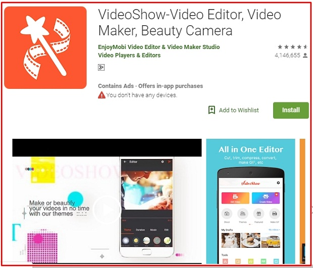 Software Quik Edit Video Android Terbaik 2019