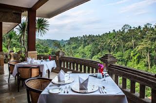 All About Bali Cascades Restaurant