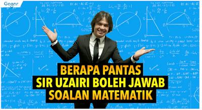Video - Video Viral Cikgu Uzairi Berkongsi Pengalaman Mengajar Matematik Yang Viral