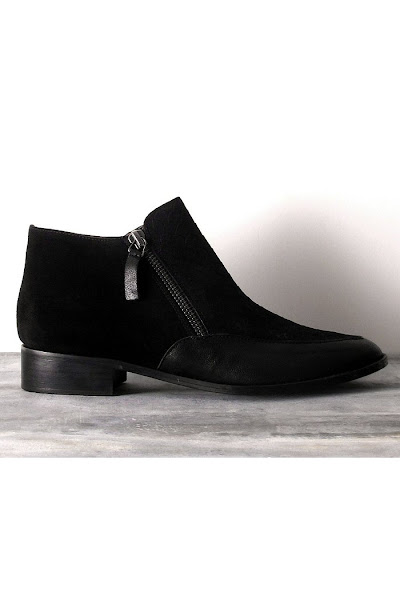 Bottines Delaney noir Emma Go