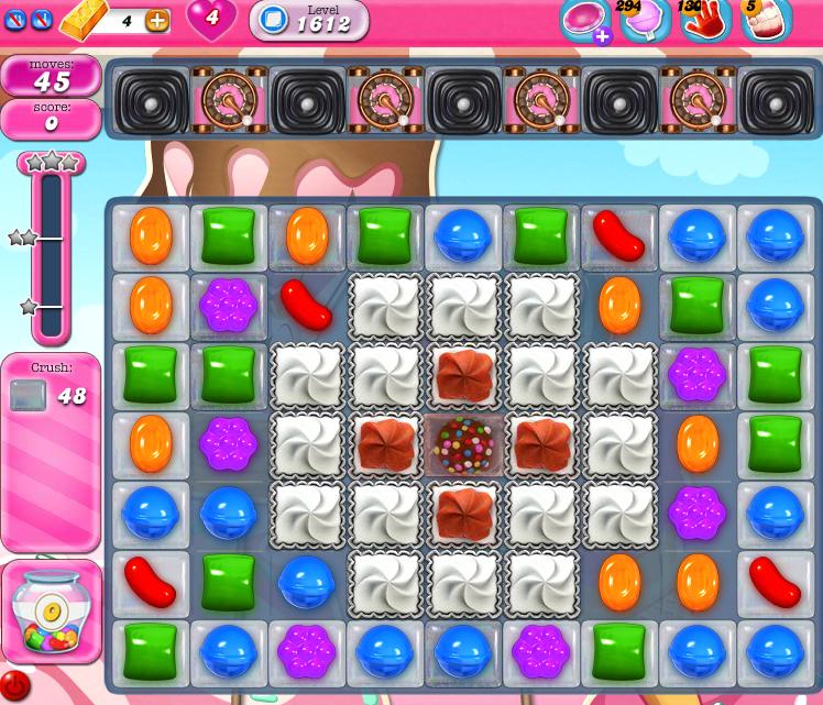 Candy Crush Saga 1612