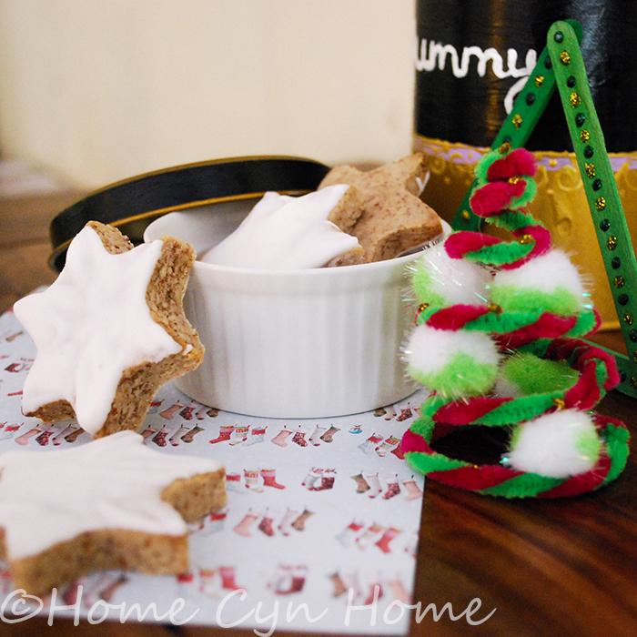 Zimtsterne Cinnamon Star Cookies Home Cyn Home