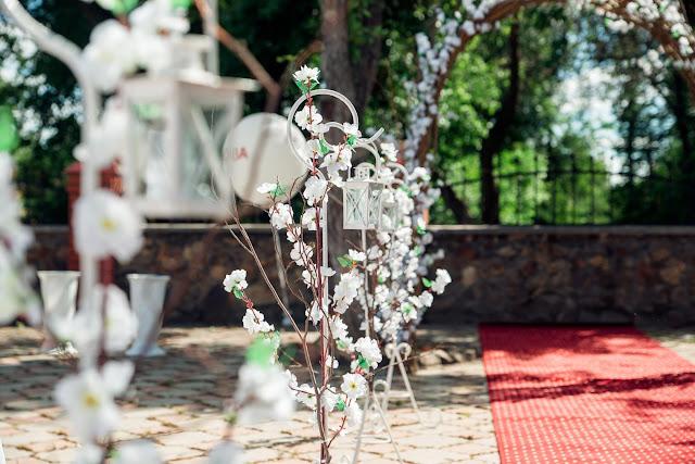 Пример оформления для свадеб