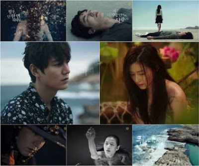 Kisah Duyung bercinta dengan manusia, the legend of the blue sea lakonan lee min ho dan jun ji hyun