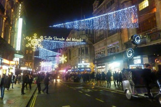 Aria di Natale a Londra