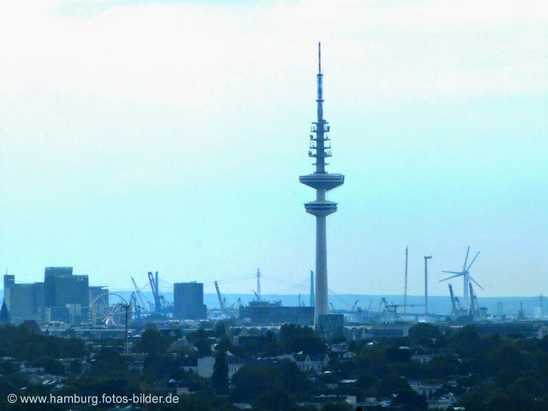 Fernsehturm Hamburg - Blick vom Planetarium