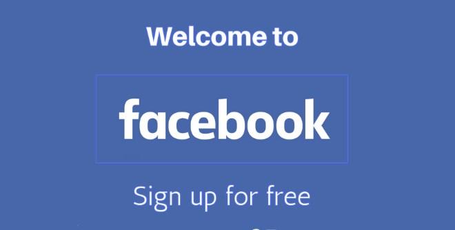 Facebook sighn up