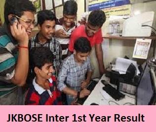 JKBOSE Inter 1st Year Result 2017