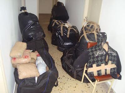 """Θεσπρωτία: Βρέθηκε """"καβάντζα"""" με 47 κιλά κάνναβης"""