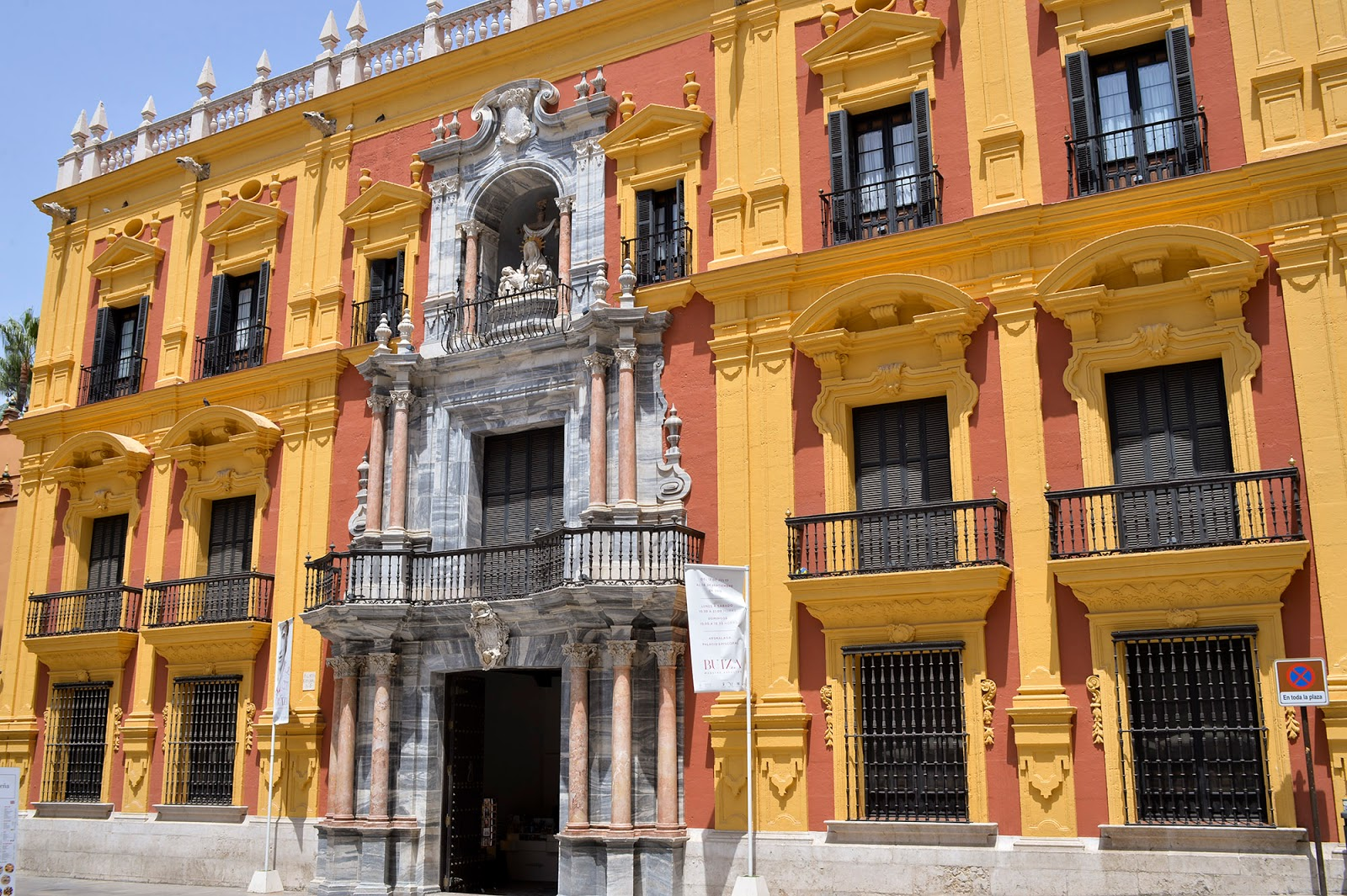 episcopal palace architecture malaga spain