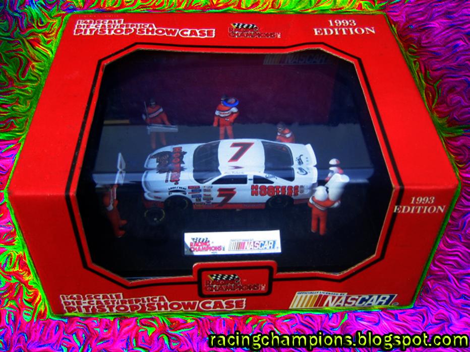 NASCAR Racing Champions Blog Alan Kulwicki 7 Hooters Ford